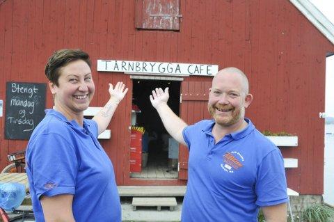 Investor: Cathrine Mellby og Kenneth Lauring har drevet suksessrestaurant Tårnbrygga i tre år og Galeien i Kragerø i ett. Nå søker de en investor som vil bli med på veien videre.