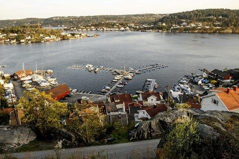 Manko: Havnevesenet har ikke betalt leie for av en del av grunnen til småbåthavna i Tallakshavn. Foto: Jimmy Åsen