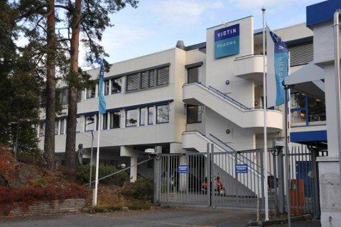 Vistin Pharma har solgt fabrikken i Gruveveien til australske TPI Enterprises.