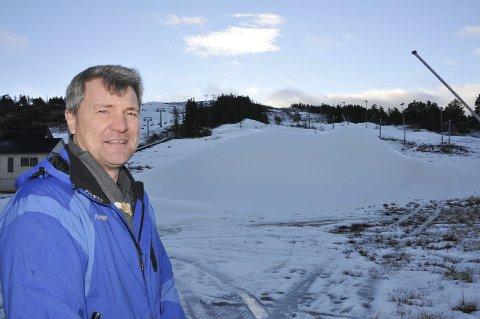 Økte inntektene: Gautefall Skisenter ved Bjørn Halvor Roalstad har økt inntektene, men regnskapet for 2016 viser et underskudd.