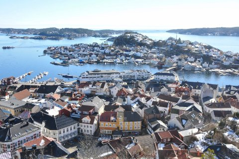Kragerø, her sett fra Steinmann, er et poulært søkeord på Finn.N