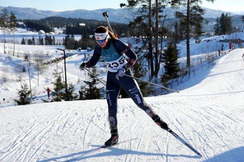 Guro Seline Herfoss gjorde det godt med en sjuendeplass fredag. Lørdag kom hun på 16.-plass i NM på Simostranda.