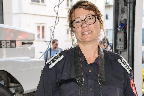 Brannsjef Anne Lise Lønne.