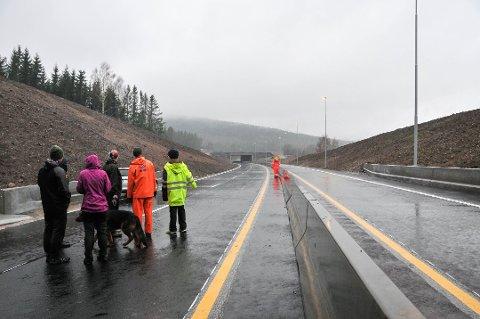 INVESTERES: Prosjektet Skygestein - Skjelbredstrand er åpnet. Men i de kommende fire år skal den ne fylkeskommunen investere 1,2 milliarder kroner på fylkesveiene i Telemark og Vestfold.