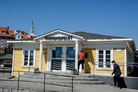 Vinmonopolets lokaler i Kragerø. Arkivfoto: Jimmy Åsen
