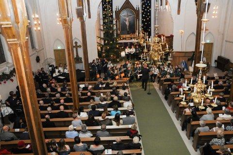 Kan bli avlyst: Julekonserter, blant annet i Kragerø kirke, kan bli avlyst.