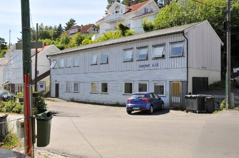 Biørnsborgbakken 9. Bildet er tatt ved en tidligere anledning.