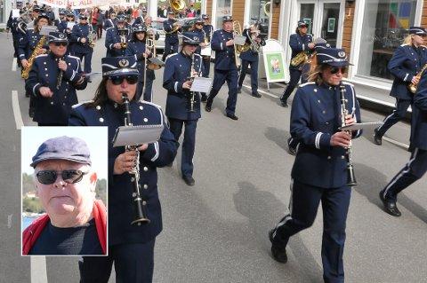 Kragerø musikkorps regner med å både spille og marsjere 17 mai.