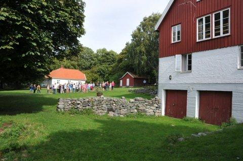 STENGT: DNTs overnattingstilbud på Øitangen på Jomfruland er stengt inntil videre.