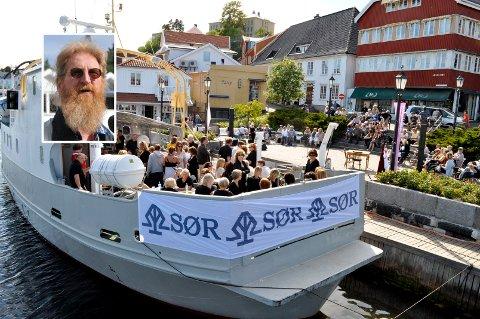 Usikker: Arne Fred Solbekk (innfelt) håper at årets Filosofifestival kan gjennomføres.