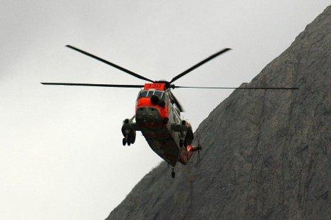 Sea King-helikopter. (Illustrasjonsfoto frå arkivet).