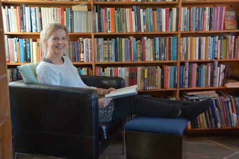 60-årsjubilanten Anne Karin Fonneland sitt forfattarskap blir eit hovudtema på Litteraturseminaret i Bergslagen laurdag 6. februar. (Ar-kivfoto).