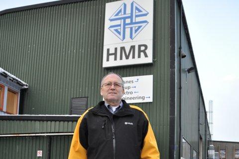 HMR har måtta redusera arbeidsstokken med 7-8 tilsette i løpet av det siste halve året. – Det er for lite arbeid i Kvinnherad, seier konserndirektør Knut Prestnes. (Arkivfoto).