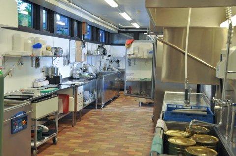 Bildet er frå kjøkenet ved Husnestunet rett før drifta blei lagt ned. (Arkivbilde).