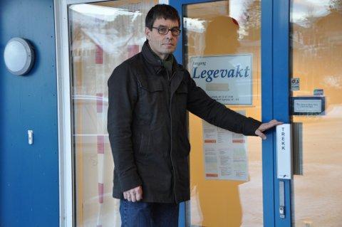 Kommunelege 1, Oddvar Larsen, meiner prisen på legevaktsamarbeidet med Tysnes burde vore lågare. (Arkivfoto).