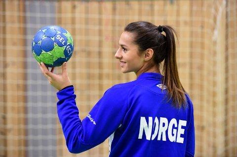 Tina Abdulla fekk onsdag telefon frå Norge sin landslagssjef Thorir Hergeirsson, om at ho er teken ut til seniorsamling for første gong. (Arkivfoto).