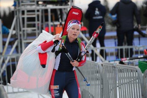 GOD START: Ragnhild Femsteinevik har plukka bra med poeng i IBU-cupen og har fått ein bra start på denne sesongen.