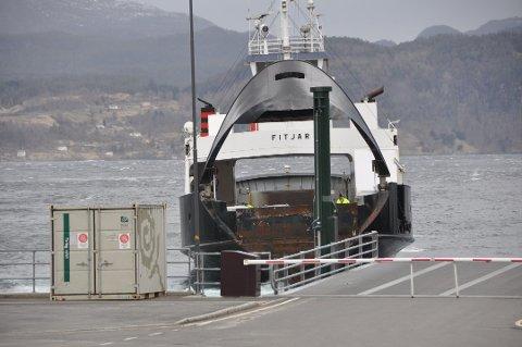 Ferjesmabandet Skånevik - Matre - Utåker er ute av drift.