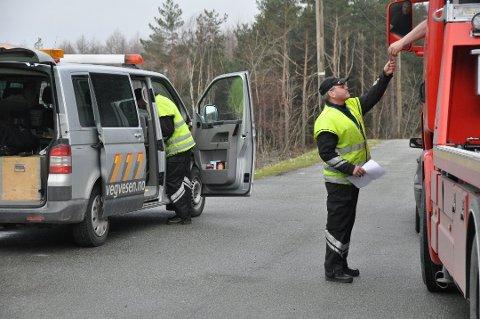 Statens vegvesen hadde fredag kontroll på Stripo og i Uskedalen. (Arkivfoto).