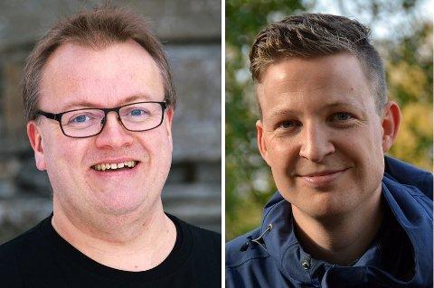 Tor Arve Røssland (t.v.) og Anders Totland har kvar si bok på lista over dei ti beste ungdomsnøkene i dette årtusenet. (Arkivfoto).