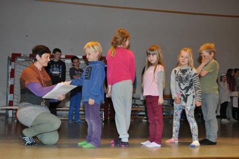 Eva Refvik, her frå tida på Undarheim skule, ønsker å bli rektor for Stord vidaregåande. (Arkivfoto).
