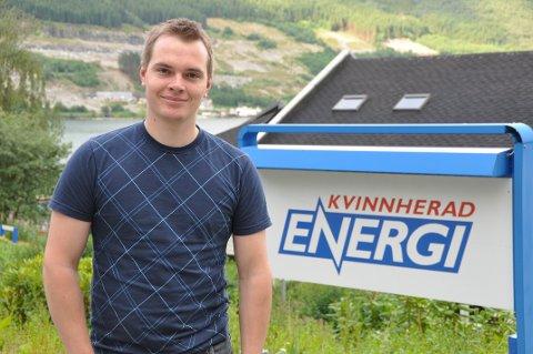 Kvinnherad Energi har funne sin nye sjef. Her frå 2013. (Arkivfoto).