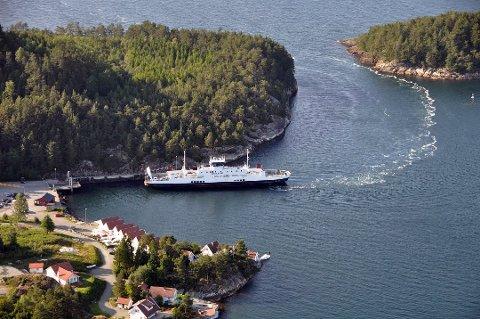 ULIKE LØYSNINGAR: Det nedbatalte bompengelånet opnar for ulike løysningar for Halsnøy-Stord-sambandet.