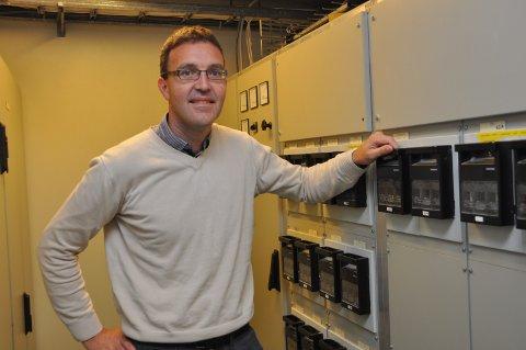 NYTT SELSKAP: Kenneth Ingvaldsen er dagleg leiar i det nye straumselskapet Vestlandsenergi med kontor i Dimmelsvik. (Arkivfoto)