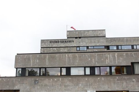 Stord sjukehus er 50 år. (Foto: Helse Fonna).