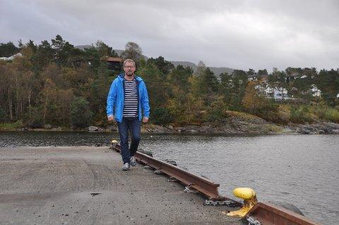STARTA AKSJESELSKAP: Med Husnes Brygge AS var Knut Rune Fatland éin av dei som starta eit nytt føretak i Kvinnherad i januar. (Arkivfoto)
