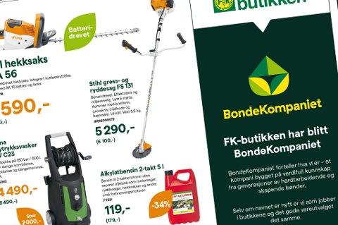 Faksimile frå annonse i Kvinnheringen 16. mars.