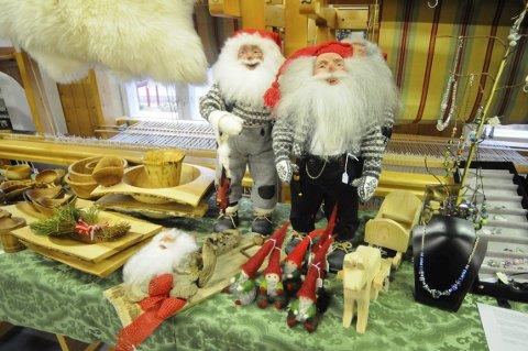 ADVENT: Hvert år pleier det å være mye forskjellig håndverk å få kjøpt på julemessa i Jondalen.