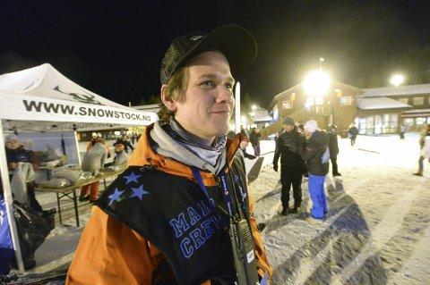 30 ÅR: Snowstocksjef Olav Bjella Stavn fylte 30 år på åpningsdagen av Snowstock. (FOTO: OLE JOHN HOSTVEDT)
