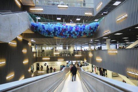 NEDGANG: Ingeniørstudentene som søker seg til Kongsberg, tenker også annerledes i nedgangstidene vi opplever nå. FOTO: IRENE MJØSENG