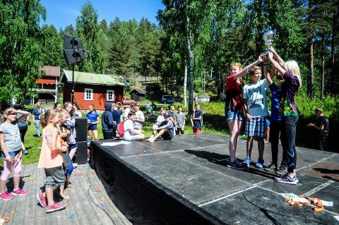Her er vinnerne av årets Energikamp i Kongsberg. De er fra Skavanger skole.