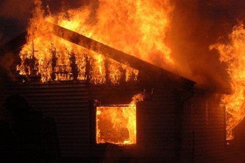 ØVELSE: Flesberg brannvesen skal ha øvelse til helga.