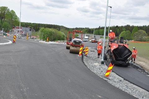 ÅPNER TIDLIGERE: Den nye fylkesvei 72 åpner tidligere enn planlagt. Foto: Statens vegvesen.