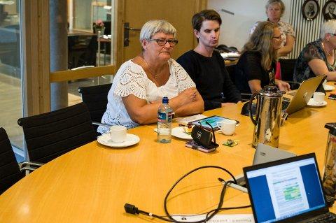 SKEPTISK: Marianne Nyland (Rødt) foreslo at de nye omsorgsboligene skulle bygges både på Edvardsløkka og Dyrmyrskauen. Forslaget ble nedstemt.