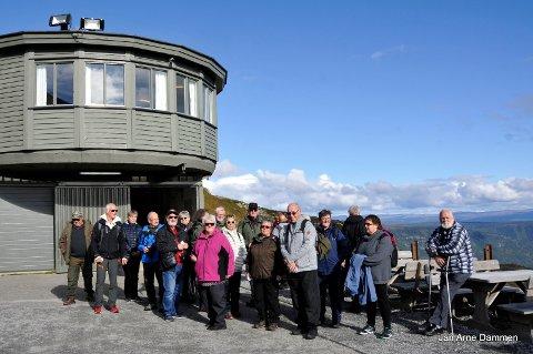 GAUSTABANEN: Fylkeslaget av Arbeidsmiljøskaddes Landsforening i Buskerud (A.L.F. Buskerud) arrangerte høsttur til Telemark.