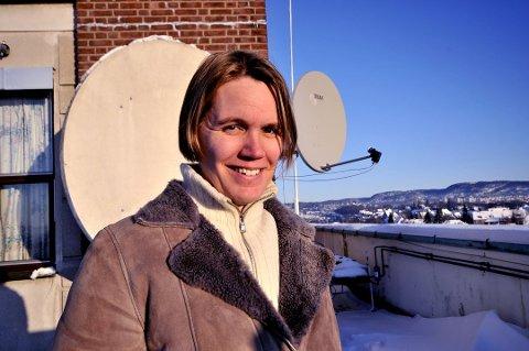 Statsmeterolog Vibeke Thyness varsler sterk vind i natt.