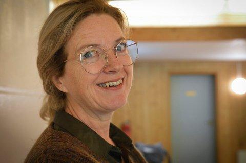 ØNSKER VELKOMMEN: Ellen Kværna, daglig leder ved Åpent verksted i Kongsberg.