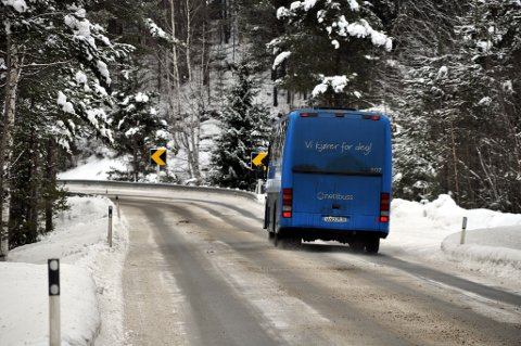 At trafikkartet på den nye nettsiden til Nettbuss ikke fungerer, irriterer flere pendlere. (Arkivbilde)