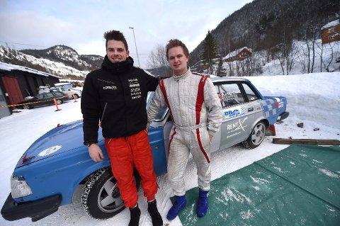 Kjørte sammen: Jonas Hvambsal og Andreas Hvambsahl