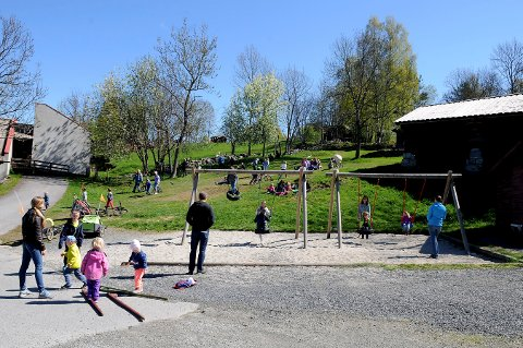 HØSTFERIE: Lågdalsmuseet holder åpent hver dag i helgen og i høstferien. Åpent inn til sauer og geiter kl. 13.