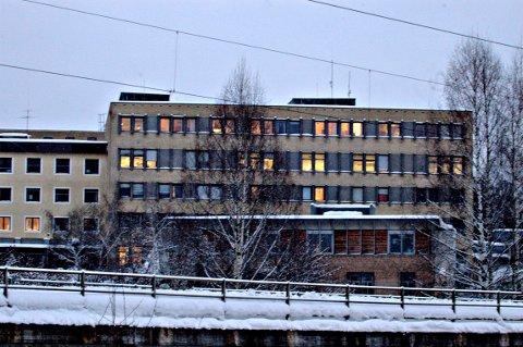Kongsberg sykehus fikk sitt eget nyttårsbarn i år.