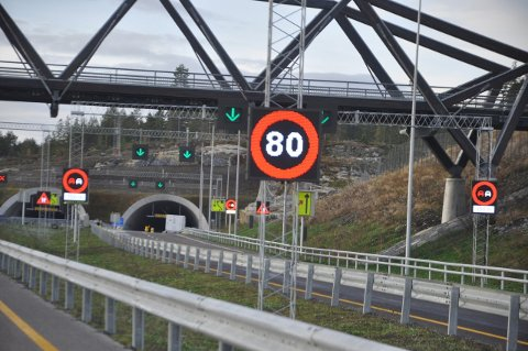 Tusenvis av signaler skal styres fra VTS i Porsgrunn når E134 åpner.