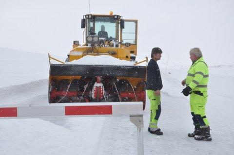 ÅPNER SNART:  Veien over Imingfjell åpner 1. April