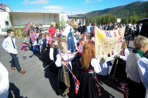 FLESBERG: Også i år blir det feiring av nasjonaldagen ved Flesberg skole og samfunnshus.