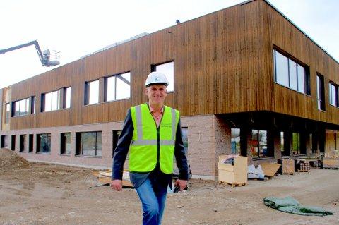 OVERTAR: Brynjar Henriksen overtar som daglig leder i KKE fram til man har fått en ny fast eiendomsdirektør på plass.