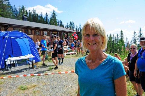 Løpsleder Mona Kjeldsberg er løpsleder for Blefjells Beste, som lørdag arrangeres for femte gang.